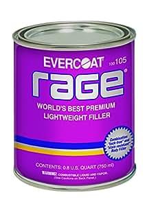 Evercoat 105 Rage Premium Lightweight Body Filler - Quart