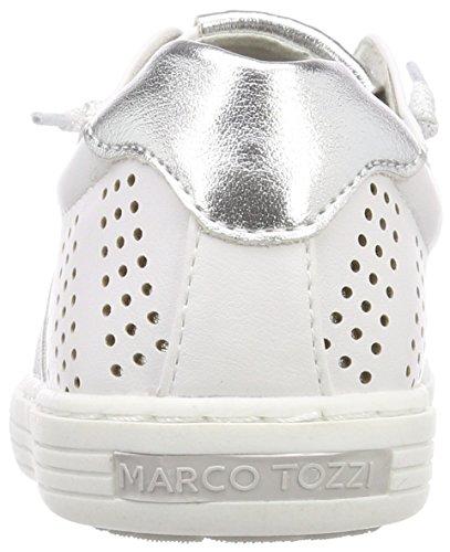 Marco Tozzi Mädchen 43204 Sneaker Weiß (White Comb)
