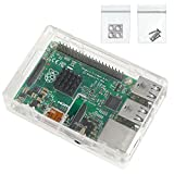 LeaningTech Nice Black Case ABS for Raspberry Pi 2 Model B and Raspberry Pi Model B+ (101-40-141)