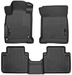 WeatherBeater Series - often referred to as floor mats. Husky Liners WeatherBeater Floor Liners are engineered to fit the complex contours of your vehicle's carpeted floor boards, trunks, and cargo areas. The Husky Floor Liners form-fit desig...