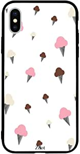 iPhone XS / 10s Case Cover Ice cream cones Zoot High Quality Design Phone Covers