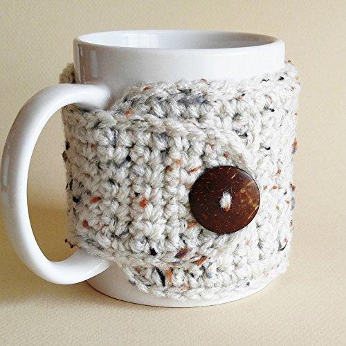 Coffee Mug Cozy Oatmeal by Nandy's Nook