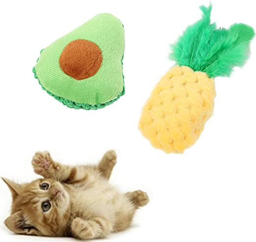 PPING Catnip Cosas para Gatos Gato Juguetes para Masticar Almohada ...