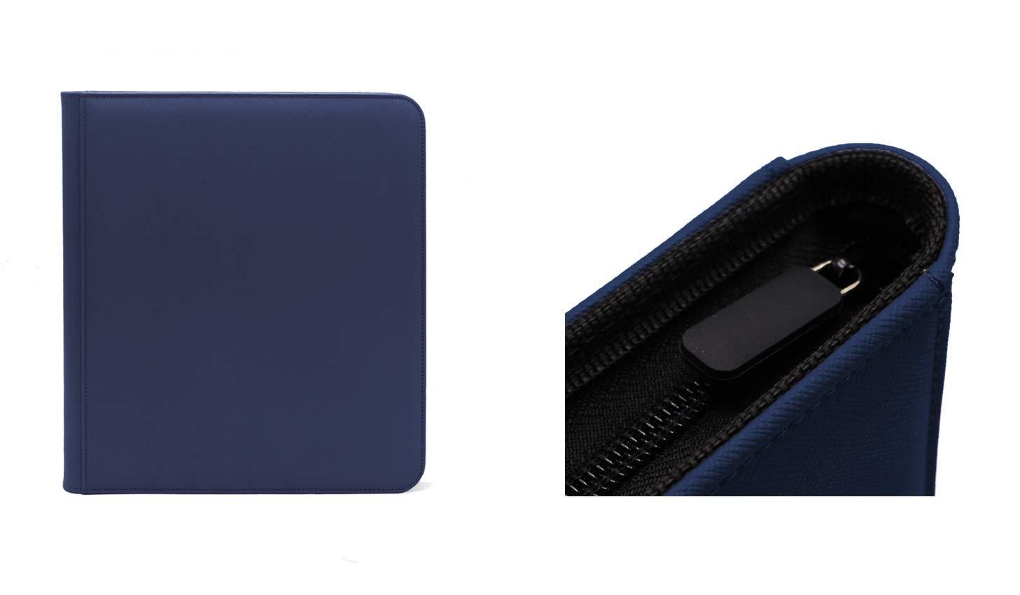 Dex Zip Binder 12 - Dark Blue