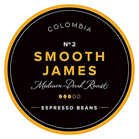 Aroma Club Café en Grano 1kg - Medium/Dark Roast Smooth James - Café Colombia Tueste Lento - Certificación Carbono Neutro: Amazon.es: Alimentación y bebidas