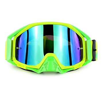 Motocicleta Gafas Dirt Bike ATV Racing Gafas De Sol OTG ...