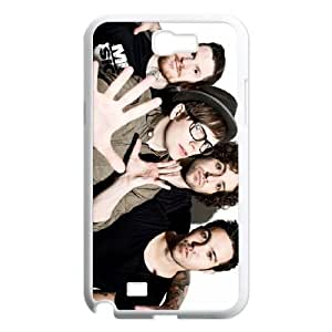 Samsung Galaxy N2 7100 Cell Phone Case White Fall out boy ZDT