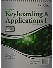 Paradigm Keyboarding and Applications I: Sessions 1-60 Using Microsoft(r) Word 2010 6th Revised edition by Mitchell, William (2013) Hardcover