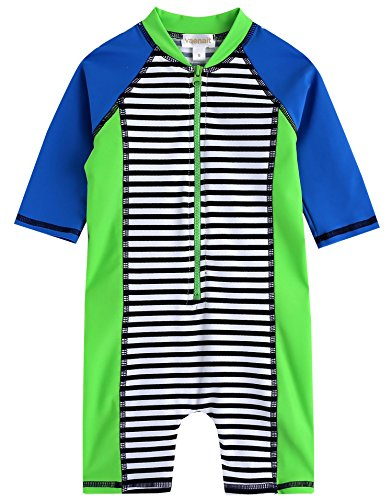 Baby L/s One Piece - Vaenait baby 0-24M Infant Boys Longsleeves One Piece Swimsuit Baby Apple Green L