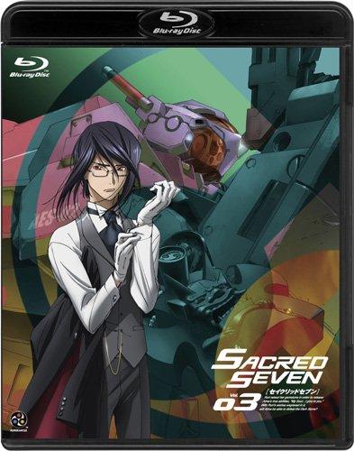 Sacred Seven Vol.03 w/ English Subtitles [Limited Edition] [Blu-ray]