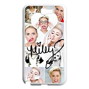 "DiyCaseStore ""Wrecking Ball""Miley Cyrus The Billboard top 2 Hot singer Theme Samsung Galaxy Note 2 N7100 Best Durable Cover Case"