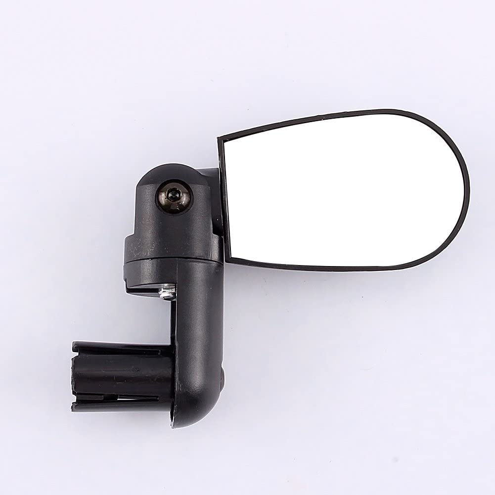 Bicycle Rear View Mirror Black Cycling Rear View Mirror 360/° Rotation for Mountain Road Bike Ledoo Bike Mirror 4Pcs Bar End Bike Mirror