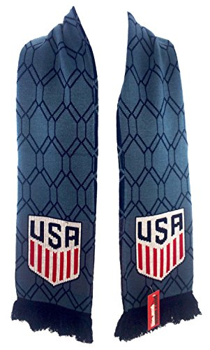 Official US Soccer Scarf - Blue Hex