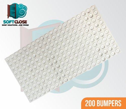 Softclose Drawer (Sheet of 200 SoftClose Door & Drawer Bumpers 1/2