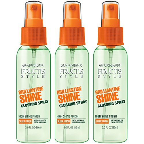 - Garnier Hair Care Fructis Style Brilliantine Shine Glossing Spray, 3 Count