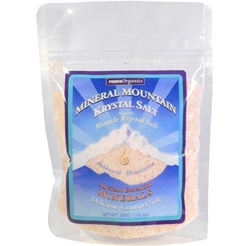 (Klamath, Mineral Mountain Krystal Salt, 17.6 oz (500 g) - 2pc )