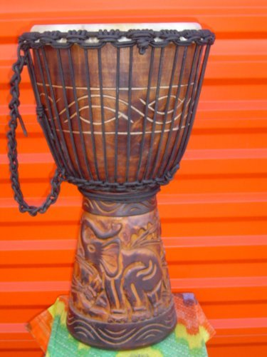 Small Djembe Drum - GORGEOUS! 24