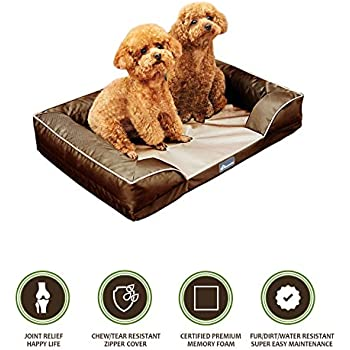 Amazon.com : PetBed4Less Deluxe Dog Bed Sofa & Lounge w
