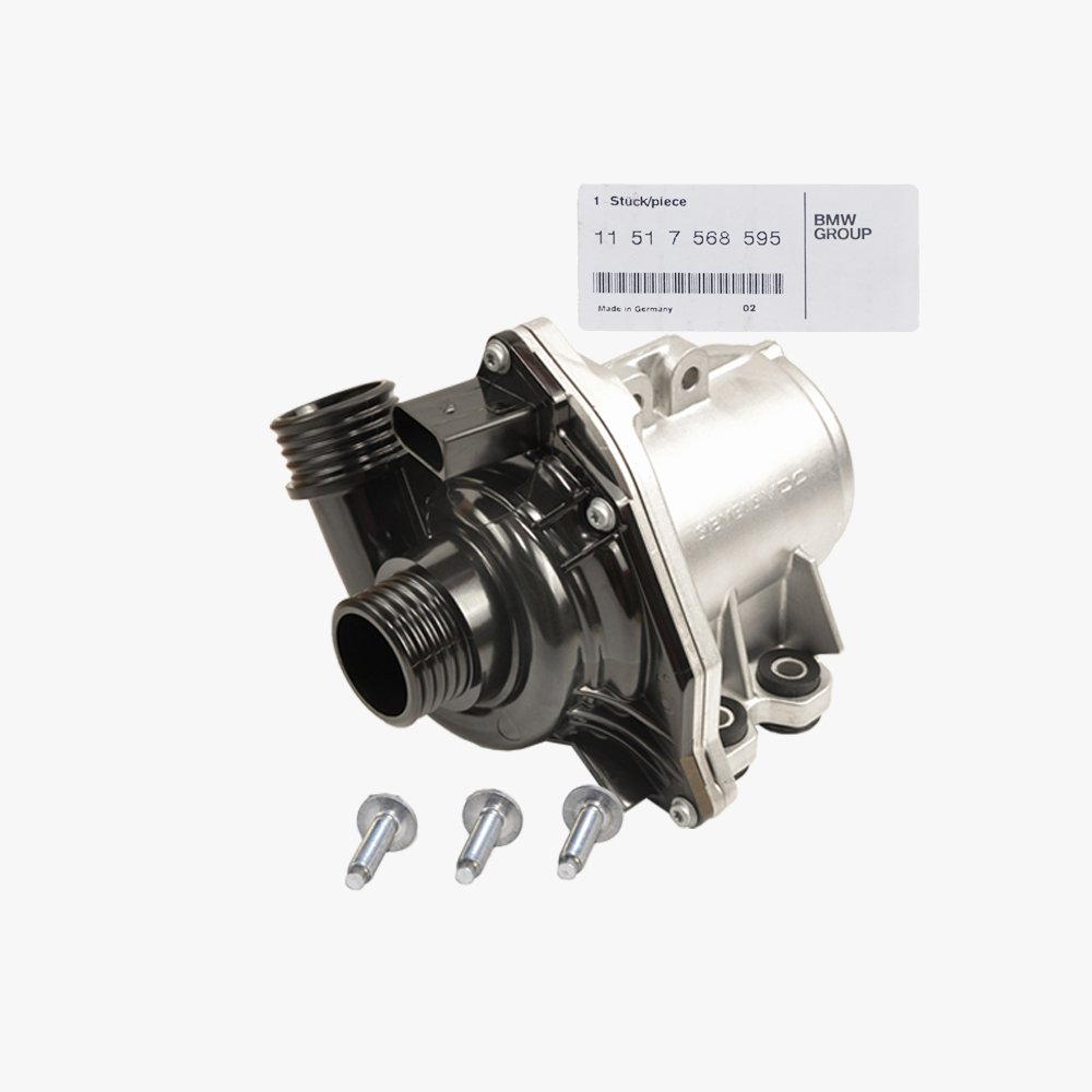 BMW Engine Water Pump Electric (With Auxiliary A/C) Genuine Original 11517546996