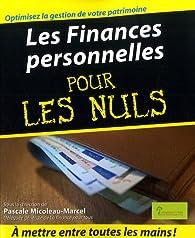 Les Finances personnelles pour les nuls par  Institut pour l'éducation financière du public