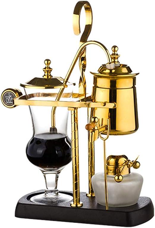 Máquina De Café Manual Sifón Goteo Máquina De Café Manual Oro Y ...