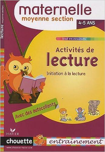 Télécharger en ligne Activités de lecture MS : 4-5 ans epub, pdf