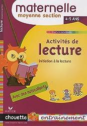 Activités de lecture MS : 4-5 ans