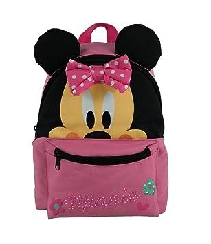 prix le moins cher brillance des couleurs profiter du prix de liquidation Minnie sac a dos 3d scolaire maternelle - 1 compartiment - 3 a 6 ans - 25cm  - rose - enfant fille