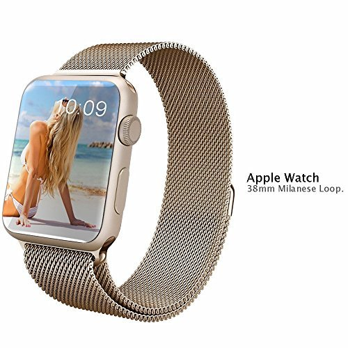 Apple Watch Band 38mm, V-moro Magnetic Closure Clasp Mila...