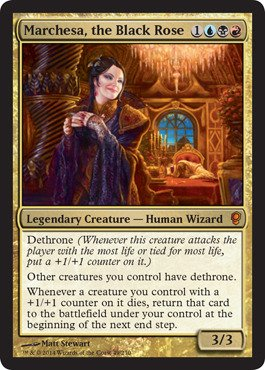 Magic: the Gathering - Marchesa, the Black Rose (/65) - Conspiracy - Foil by Magic: the Gathering