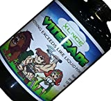 VITERADE - Kids Liquid Multivitamin. 1 x daily, non-GMO vitamin serum. Natural fiber blended with prebiotics & digestive enzymes. Organic, delicious, vegan & gluten free. Plus D3, Methyl B12 & Greens.