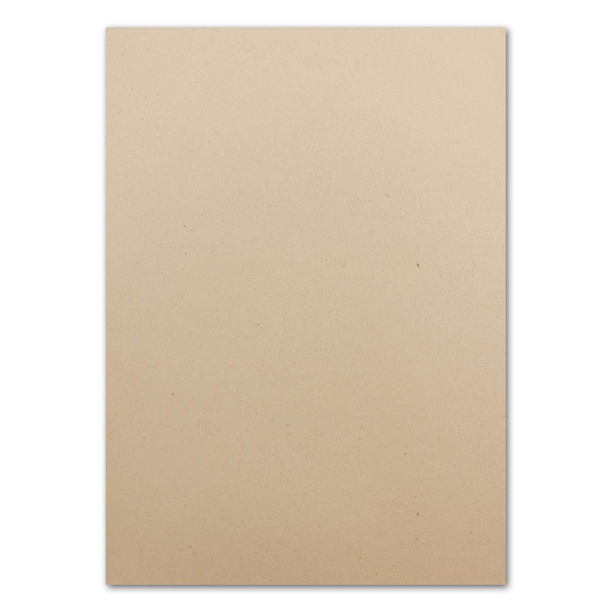 500 Naturpapier - Öko-Papier mit Lederanteil - 180 g m² - Sandfarben -100% Recycle-kompostierbar - FSC Zertifiziert - UPCYCLING - Glüxx-Agent B07PFC62CF | Lebhaft und liebenswert