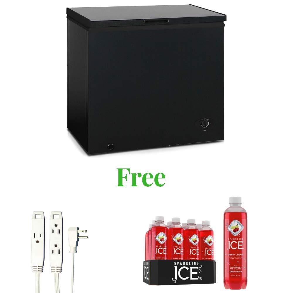 Generic Arctic King Chest Freezer (Black, 7.0 cu ft)