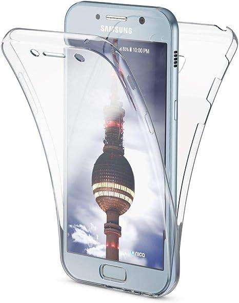 NALIA Funda 360 Grados Compatible con Samsung Galaxy A3 2017 ...