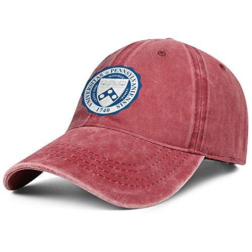 (Unisex University-of-Pennsylvania-1740- Baseball Cap Men Women - Classic Adjustable Cowboy Hat)