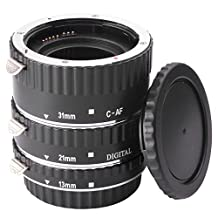 AF Macro Extension Tube Ring Set For Canon EOS EF 1100D 1000D 600D 650D 7D DC373