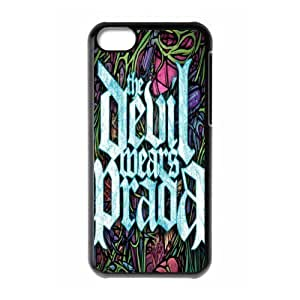 MMZ DIY PHONE CASEGators Florida USA Music Band D1 The Devil Wears Prada Print Black Case With Hard Shell Cover for Apple iphone 4/4s