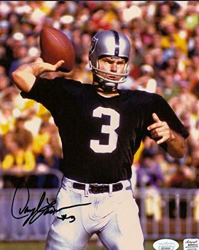 Darlye Lamonica Signed 8x10 Photo Coa Oakland Raiders Football Autograph - JSA Certified - Autographed NFL -