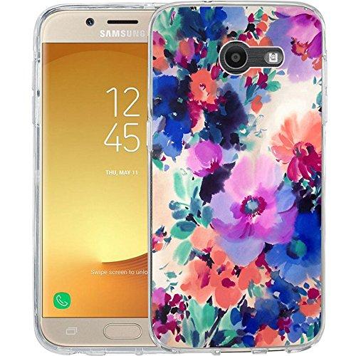 For Samsung Galaxy J7 V / J7 2017 / J7 Prime / J7 Perx / J7 Sky Pro / Galaxy Halo Case, TPU Rubber Soft Skin Silicone Protective Case Cover - Case Style Rubber Silicone