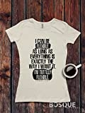 Gilmore Girls inspired T-Shirt / Adult T-shirt Top Tee Shirt design I Can Be Flexible Shirt - Ink Printed
