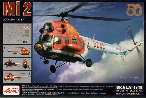 Mil Mi-2 Hoplite Helicopter: 50 Years Service (1/48 model kit, Aeroplast 90039)