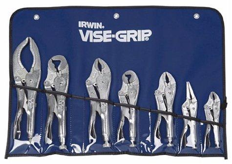 IRWIN Tools VISE-GRIP Locking Pliers, Original, 7-Piece Set with Kit bag (757KB) by IRWIN