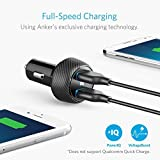 Anker 24W Car Charger 2-Port 4.8A Ultra-Compact PowerDrive 2 Elite with PowerIQ Technology for iPhone X / 8/7 / 6s / Plus, iPad Pro/Air / mini, Galaxy Note/S Series, LG, Nexus, HTC and More