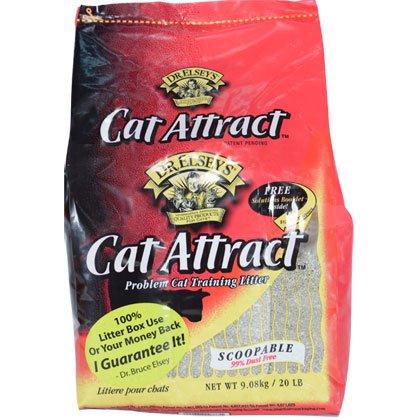 Precious Cat Cat Attract Problem Cat Training Litter, 20 pound bag, My Pet Supplies