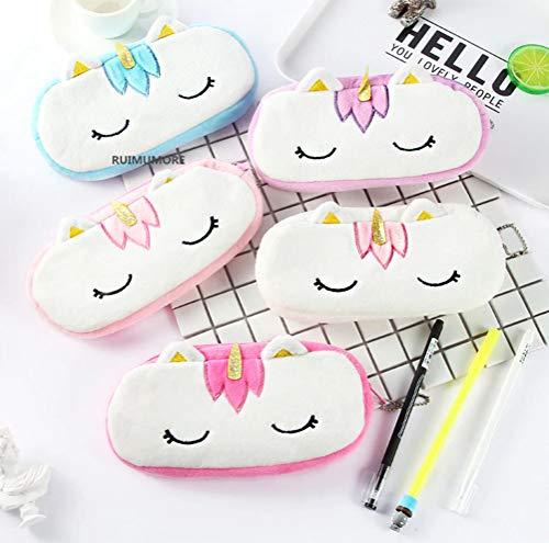 LQT Ltd 2pcs Super HOT !! Kawaii 20CM Approx. Cute Unicorn Plush Stuffed Bag Toy , Plush Coin Bag Toys Purse Plush Toys (VER)