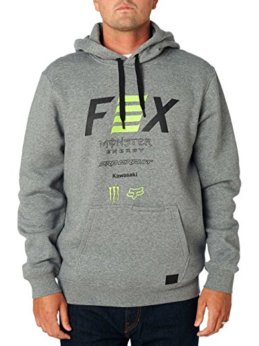 Fox Racing Pro Circuit Pullover Hoody-Heather Graphite-L ()