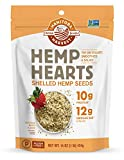 Manitoba Harvest Hemp Hearts Raw Shelled Hemp Seeds, 1lb; with 10g Protein & 12g Omegas per Serving, Whole 30 Approved, Non-GMO, Gluten Free