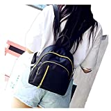 Birdfly Oxford Cloth Backpack Satchel Travel School Rucksack Mini Bag for Young Women Girl Black