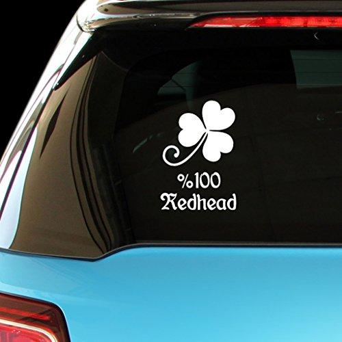 shirtmania-100-redhead-ireland-irish-car-laptop-wall-sticker
