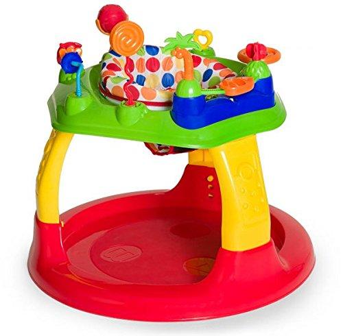 Hauck - Trotteur Play A Round - Réglable en Hauteur - Centre Jeu - Dots - Multicolore - à Partir de 6 mois 646014
